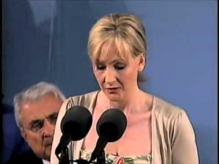 JK Rowling speech at Harvard 2008 commencement The Fringe Benefits of Failure