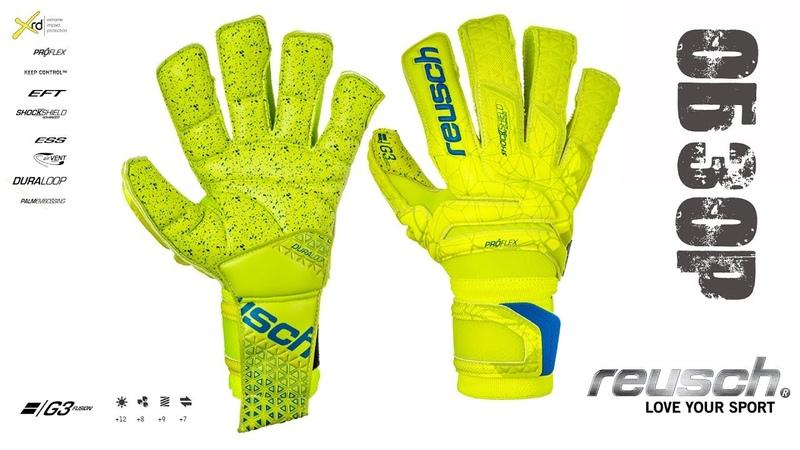 Обзор Reusch Supreme G3 Fusion Вратарские перчатки