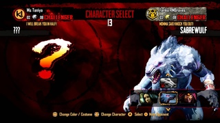 Let's Play XBOX One Killer Instinct Week of Sabrewulf Episode #3