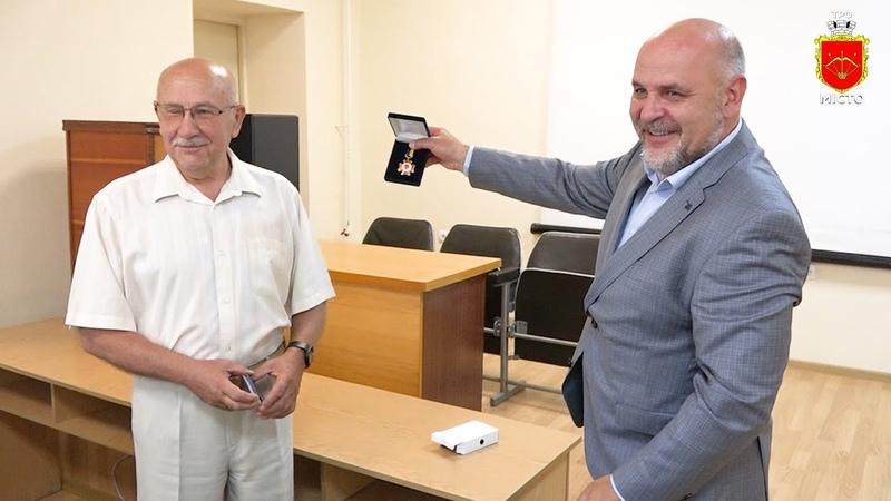 Герой праці отримав Відзнаку міського голови