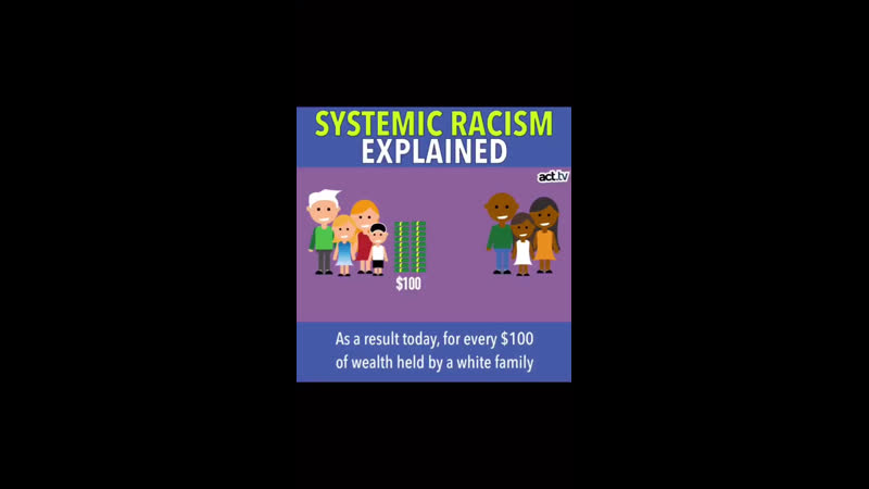 IGTV systematic racism explained · Saw this and thought I would share 🖤 🎥 @ actdottv 2 июня 2020