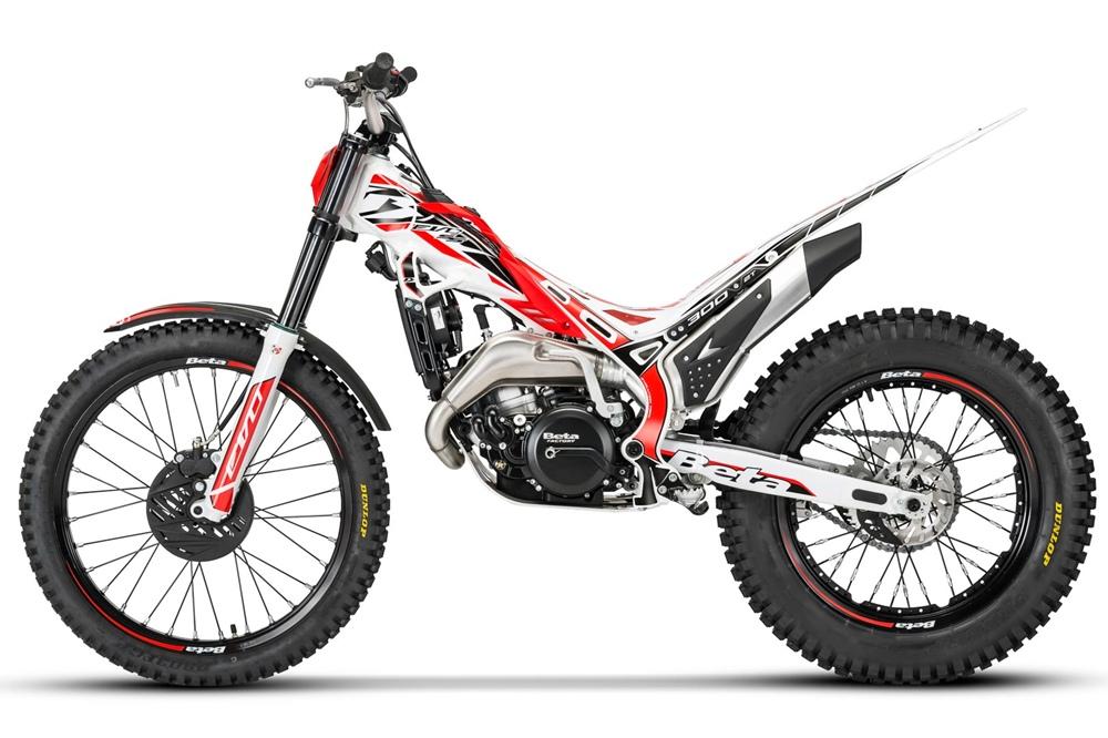 Линейка триальных мотоциклов Beta Evo 2021