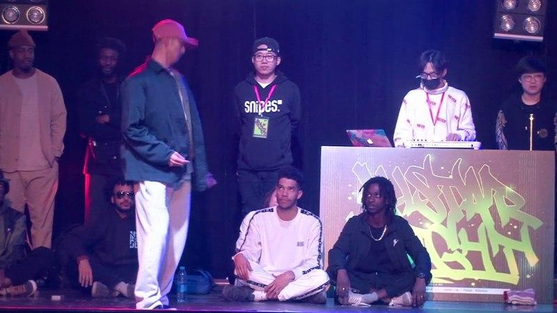 OSaam vs Slimboogie Just Play Just Dance VOL 4 All Star Night Battle Showcase
