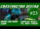 LEGO Hero Factory 44026 Crystal Beast vs  Bulk Build & Review