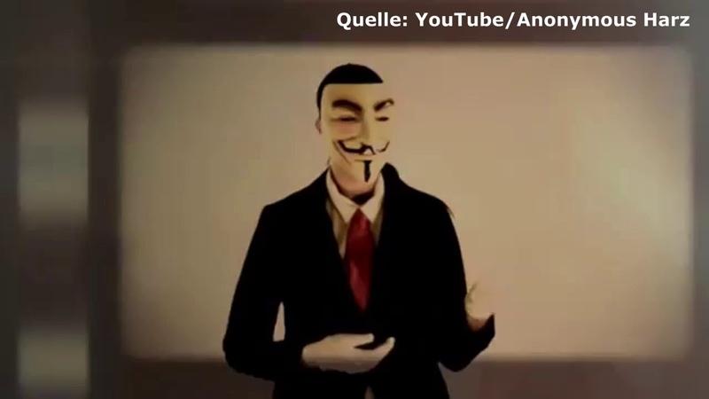 Anonymous Harz Botschaft Zustand Dauerpatient Deutschland