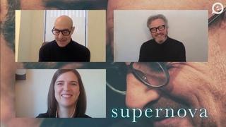 "Колин Фёрт и Стенли Тучи zoom-интервью. ""Суперновая"" на Дублинском кинофестивале."