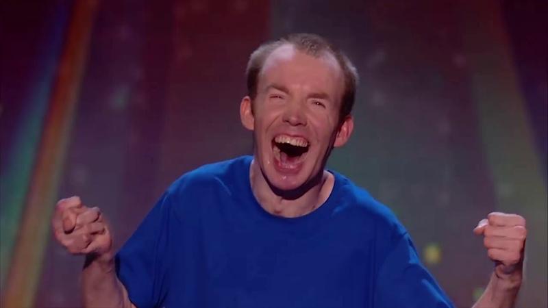 Ли Ридли, Немой комик с ДЦП выиграл шоу Талант Британии 2018! Русские субтитры Lost voice guy BGT subs