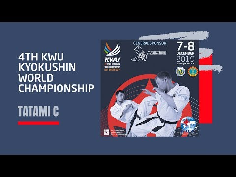 4TH KWU KYOKUSHIN WORLD CHAMPIONSHIP - 7 DEC 2019 TATAMI C