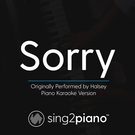 Обложка Sorry (Originally Performed by Halsey) - Sing2Piano