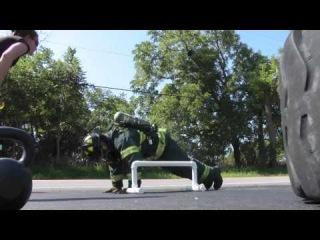 2010 CrossFit Fire Fittest FireFighter Challenge Trailer