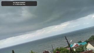 Дождь и шторм в Сочи, Лазаревское