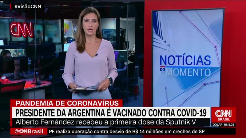 Президент Аргентины Альберто Фернандес привился вакциной Спутник V