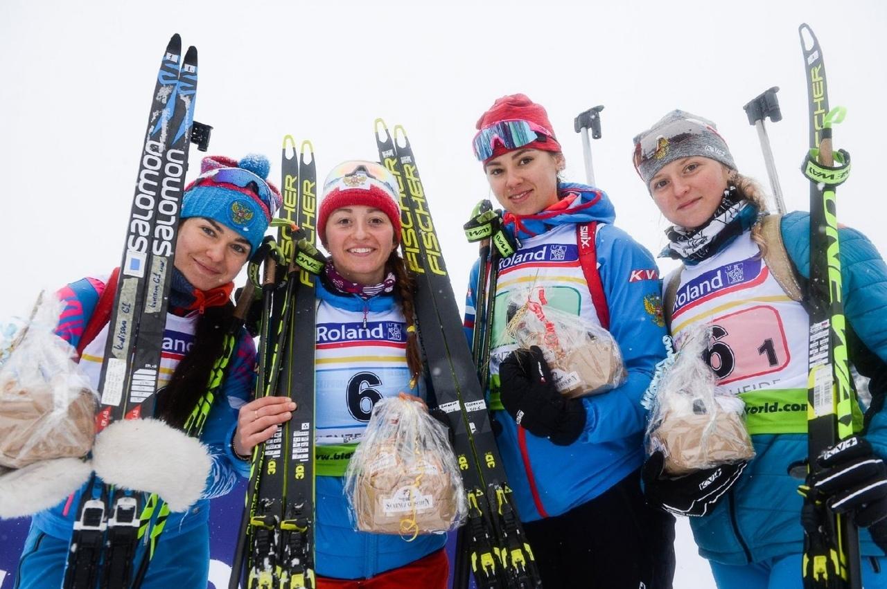 Советчанка – серебряный призер чемпионата мира среди юниоров по биатлону