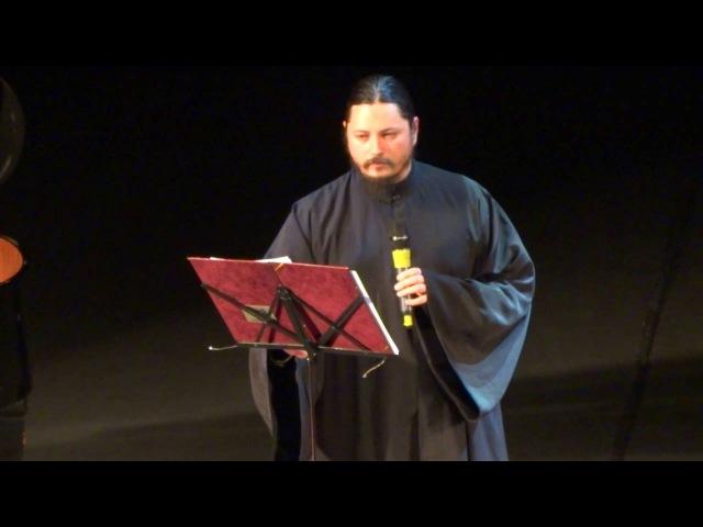 Иеромонах Фотий концерт в Калуге 13.10.2016г. часть 1