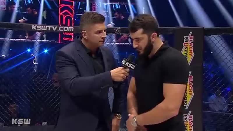 🔥 Мамед Халидов возвращается 7 декабря на турнире KSW52 он проведёт бой против Скотта Асхэма