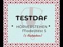 TestDaf | Hörverstehen (5)