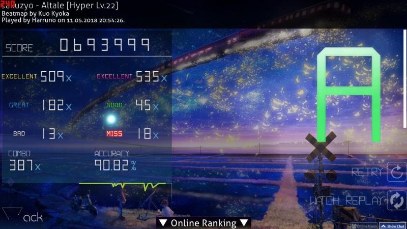 Osu!mania BMS (sakuzyo) - Altale 3.98 star