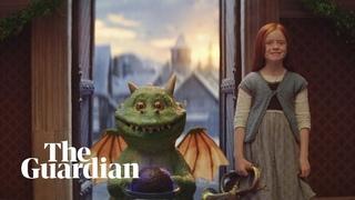 Watch Edgar the dragon in joint John Lewis/Waitrose Christmas advert