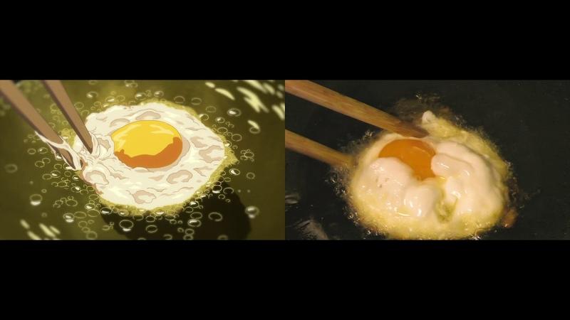 """空腹時閲覧注意 アニメ「陽だまりの朝食」で描かれる ビーフン""""を再現してみた"""