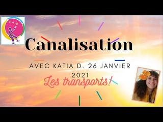 Canalisation de Katia D  du 26 janvier 2021 pour les transports