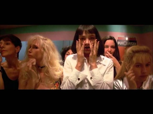 I Said Goddamn - Mia WallaceUma Thurman - Pulp Fiction