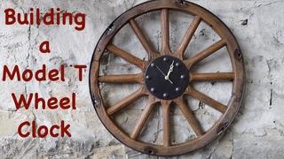 Making Model T Wheel Clock   Giving Away Free   Engels Coach Shop