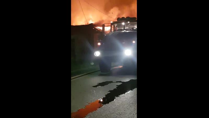 Пожар на Рощинском
