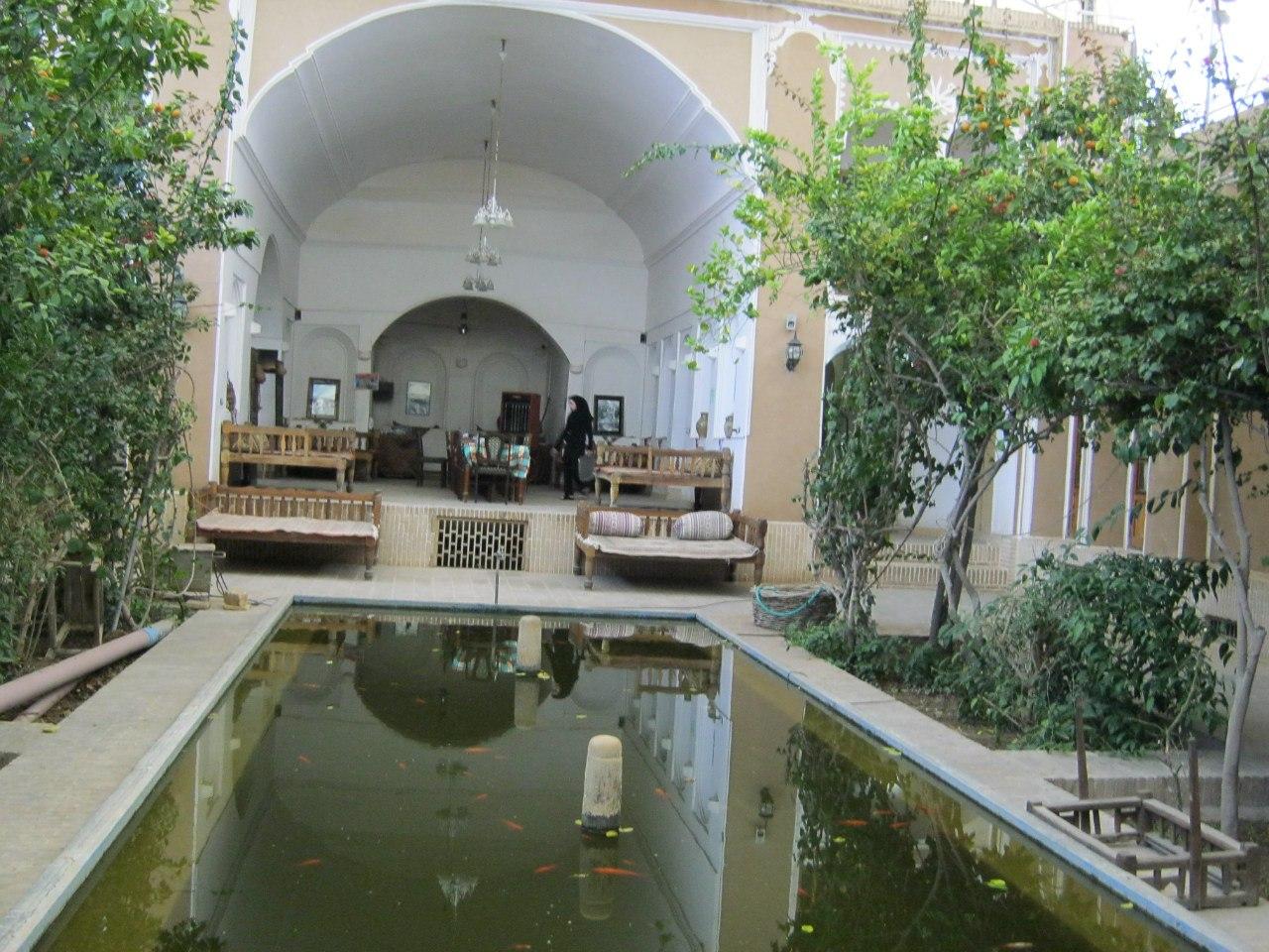 традиционный старинный дом-особняк в Язде