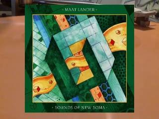 Maat Lander Sounds Of New Soma split LP 2019 vinyl rip