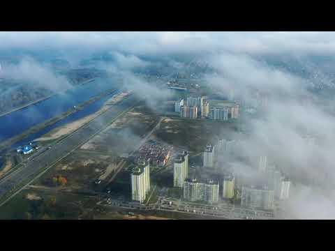 Красивый туман над Брестом