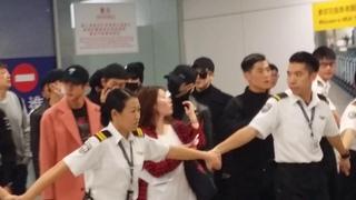 161201 ~ BTS arrival at Hong Kong airport pt2