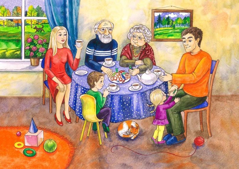 Ченнелинг «Семья» часть 1, изображение №1