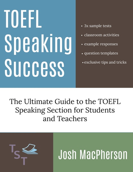 1macpherson josh toefl speaking success the ultimate guide to