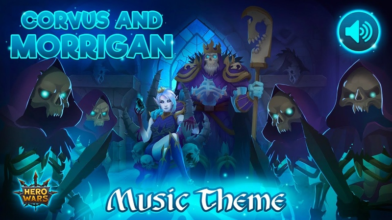 Corvus Morrigan Music Theme Hero Wars
