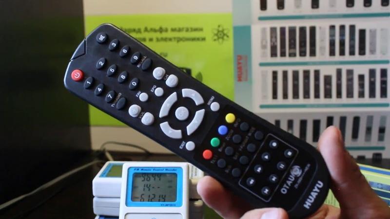 Huayu ZK 089 NEW универсальный пульт для OTAU TV настройка на управление ресивером приставкой