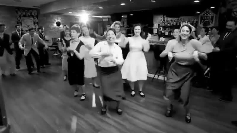 Friday vibes party swing dance lindy hop
