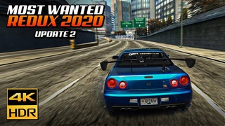 NFS Most Wanted REDUX 2020 | Ultimate Cars & Graphics Mod in 4K + Tutorial (Update 2)