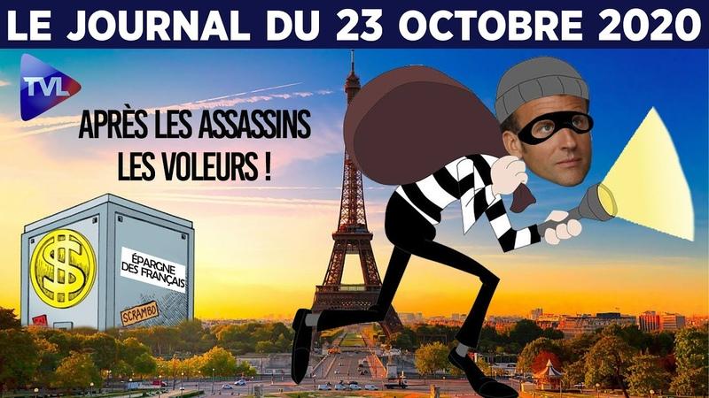LEtat veut voler l'épargne des Français - JT du vendredi 23 octobre 2020
