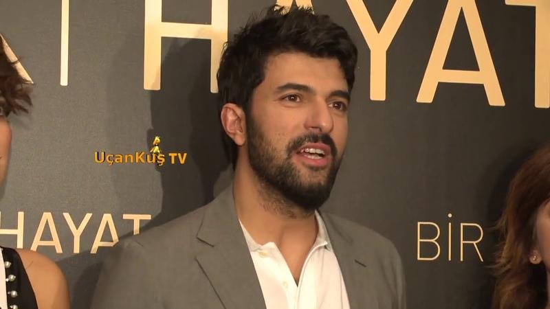 Engin Akyürek ve Bergüzar Korel Bir Aşk İki Hayat Filminin Galası Yapıldı!