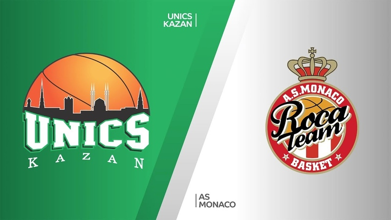 UNICS Kazan - AS Monaco Highlights   7DAYS EuroCup, T16 Round 2