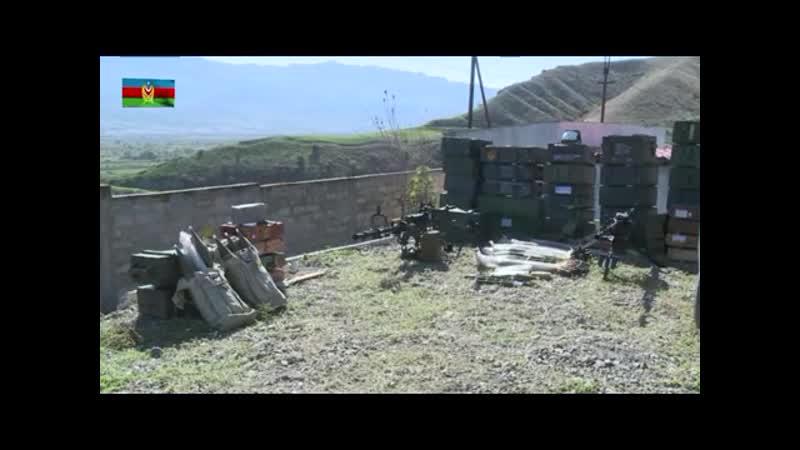 Брошенная техника армян