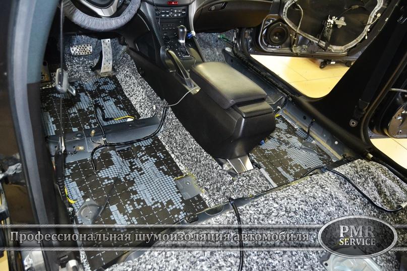 Шумоизоляция Honda Accord, изображение №5