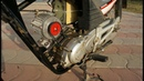 How Easy to convert a old petrol bike to electric Bike 50 km/h Using 750W Brushless Motor .
