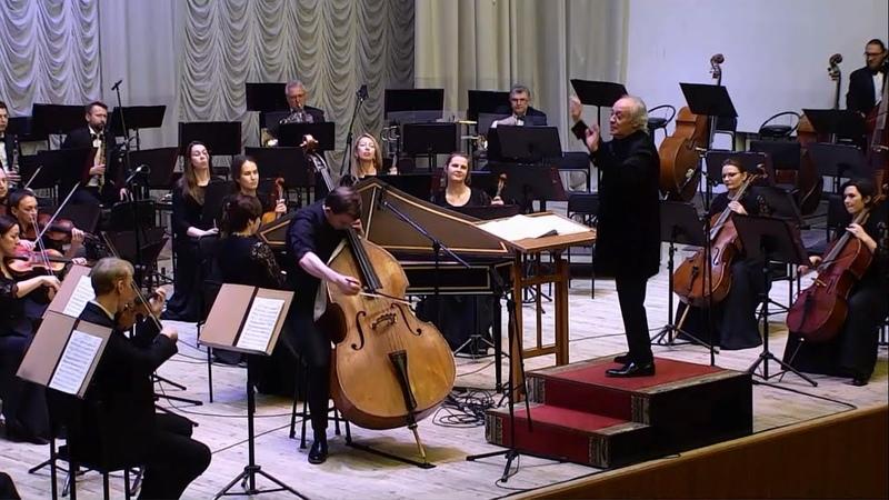 Арсений Газизов И Б Ванхаль концерт для контрабаса с оркестром