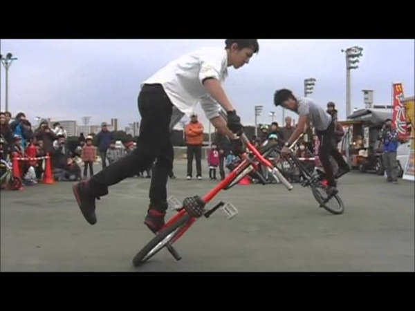 Moto Sasaki Takahiro Ikeda BMX SHOW