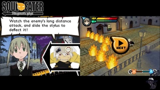 [NDS] Soul Eater Medusa no Inbou English Patch First Five Minutes