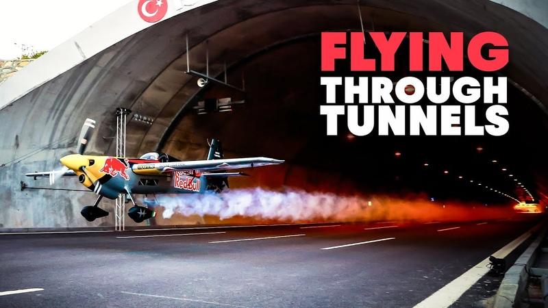 Flying A Plane Through Tunnels World First 4K HD 2021