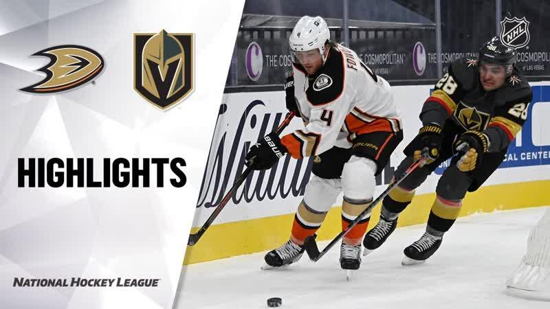 НХЛ регулярный чемпионат Матч №1 Вегас Голден Найтс Анахайм Дакс 5 2