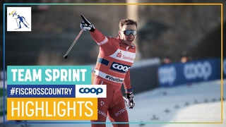 Russia back on top after three years   Men's Team Sprint   Dresden   FIS Cross Country