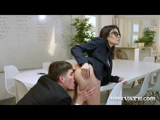 Sasha Colibri - MILF and Teacher Assfucked In The Classroom [All Sex, Hardcore, Blowjob, Anal]